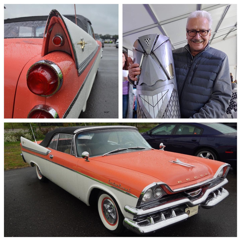 Car Show People's Choice Winner - Diran and Joyce Yazejian and their 1957 Dodge Custom Royal Lancer Convertible!