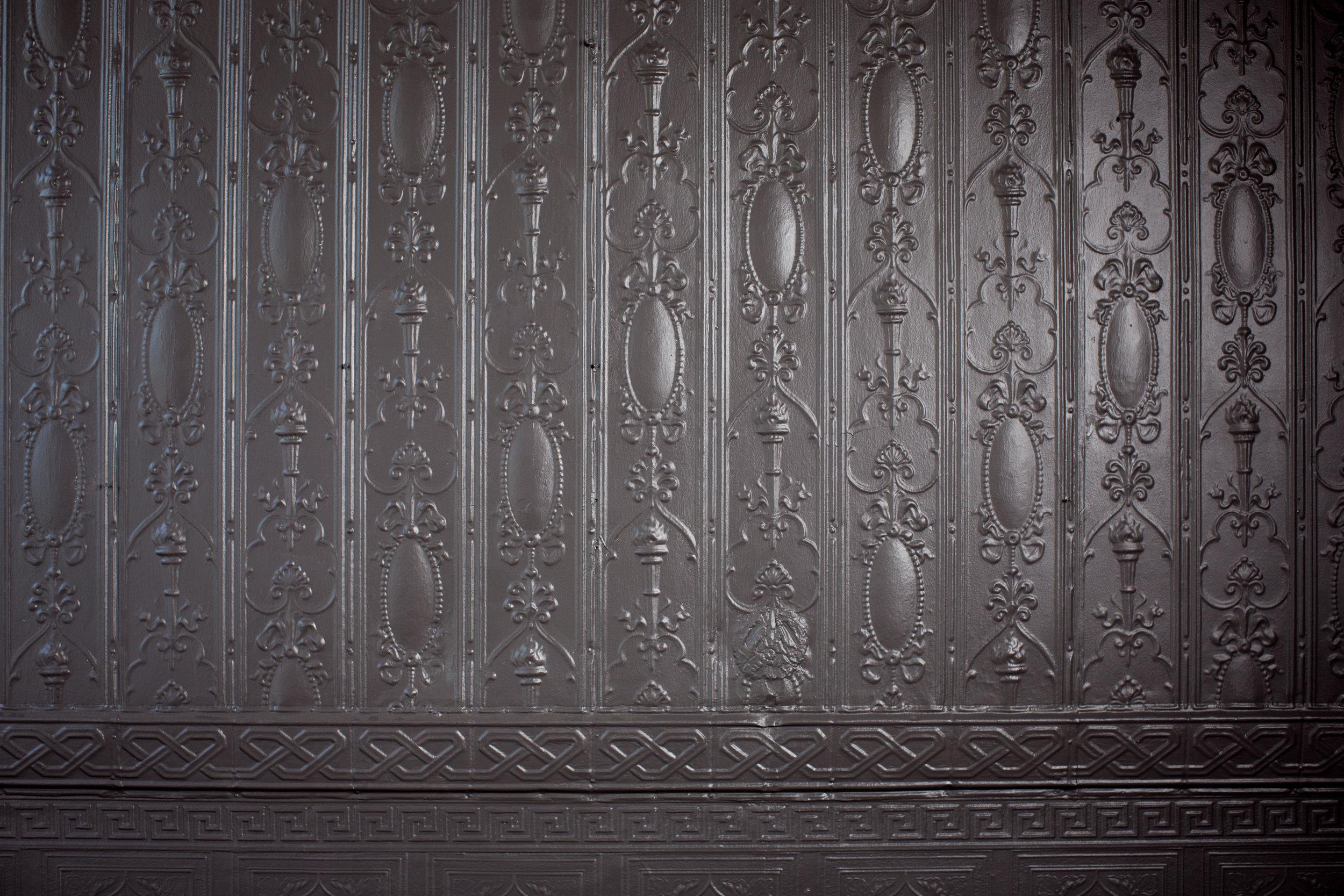 ORIGINAL TIN WALLS