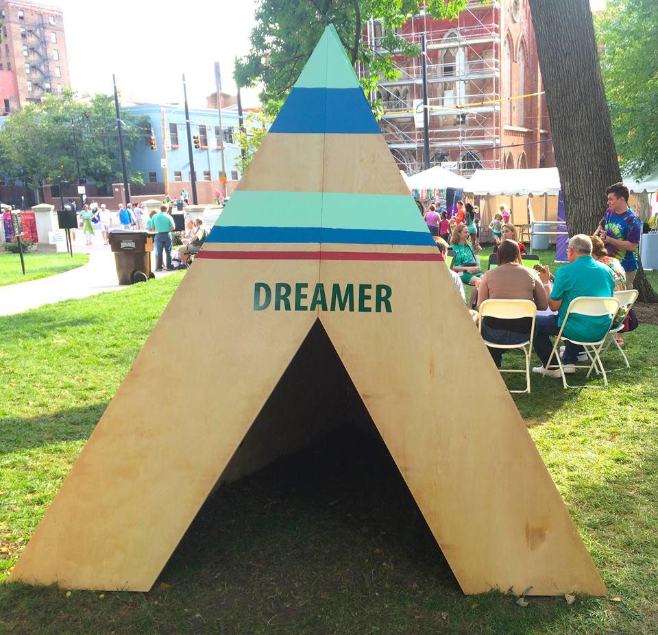 Dreamer TeePee  Community Art Piece
