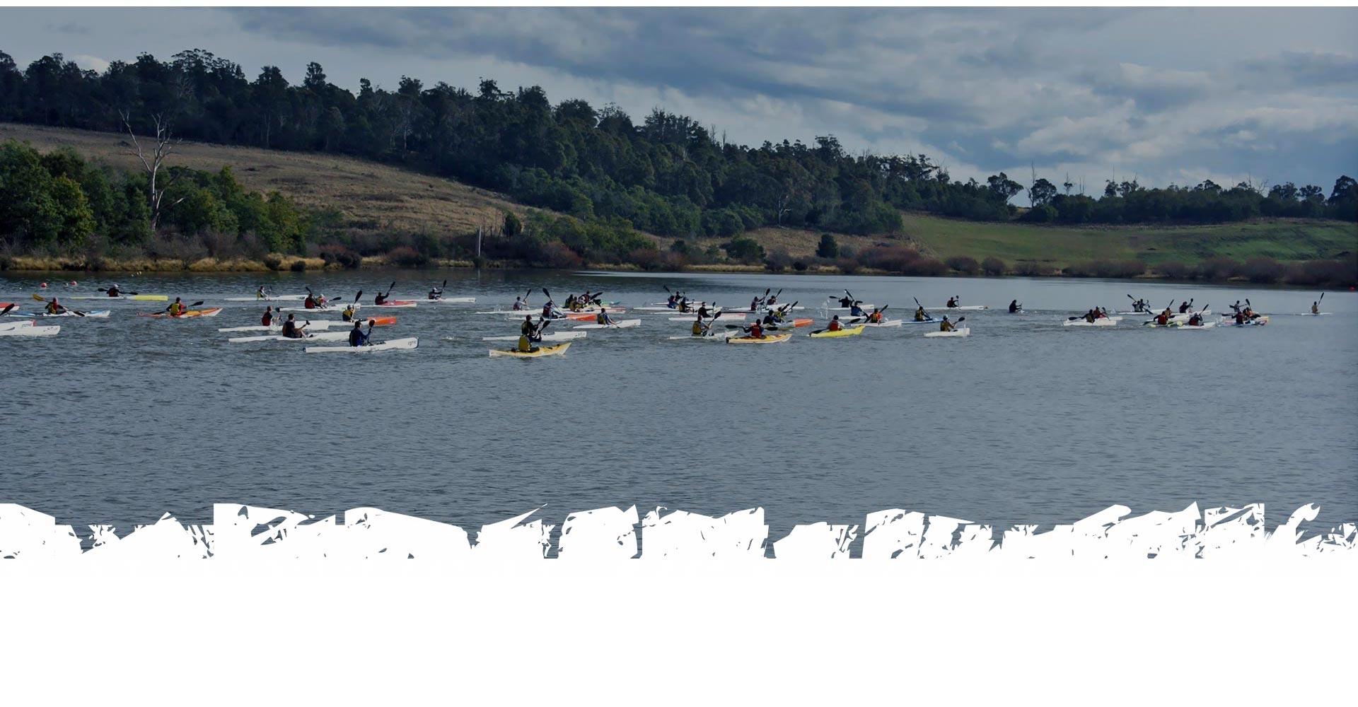 PADDLE   THE 'SURF SKI TAS' PADDLE LEG (9km)   + The Course Maps