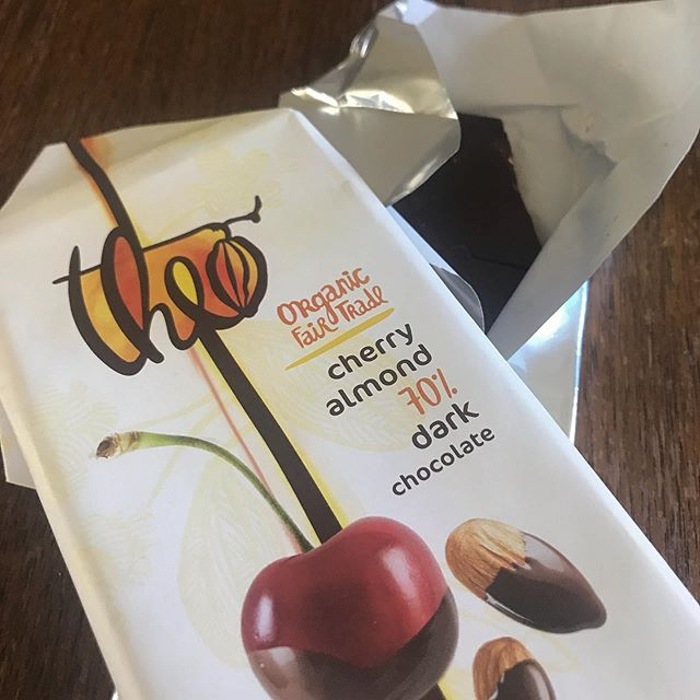 My clients give some good treats. #chocolate #treatyoself #nwsdoula