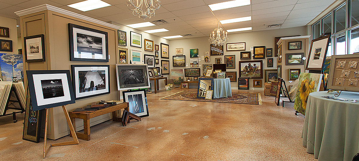 We offer unique works of art by some of the top local artists in the Indianapolis area. Stop by often as our paintings and photographs change on a regular basis.