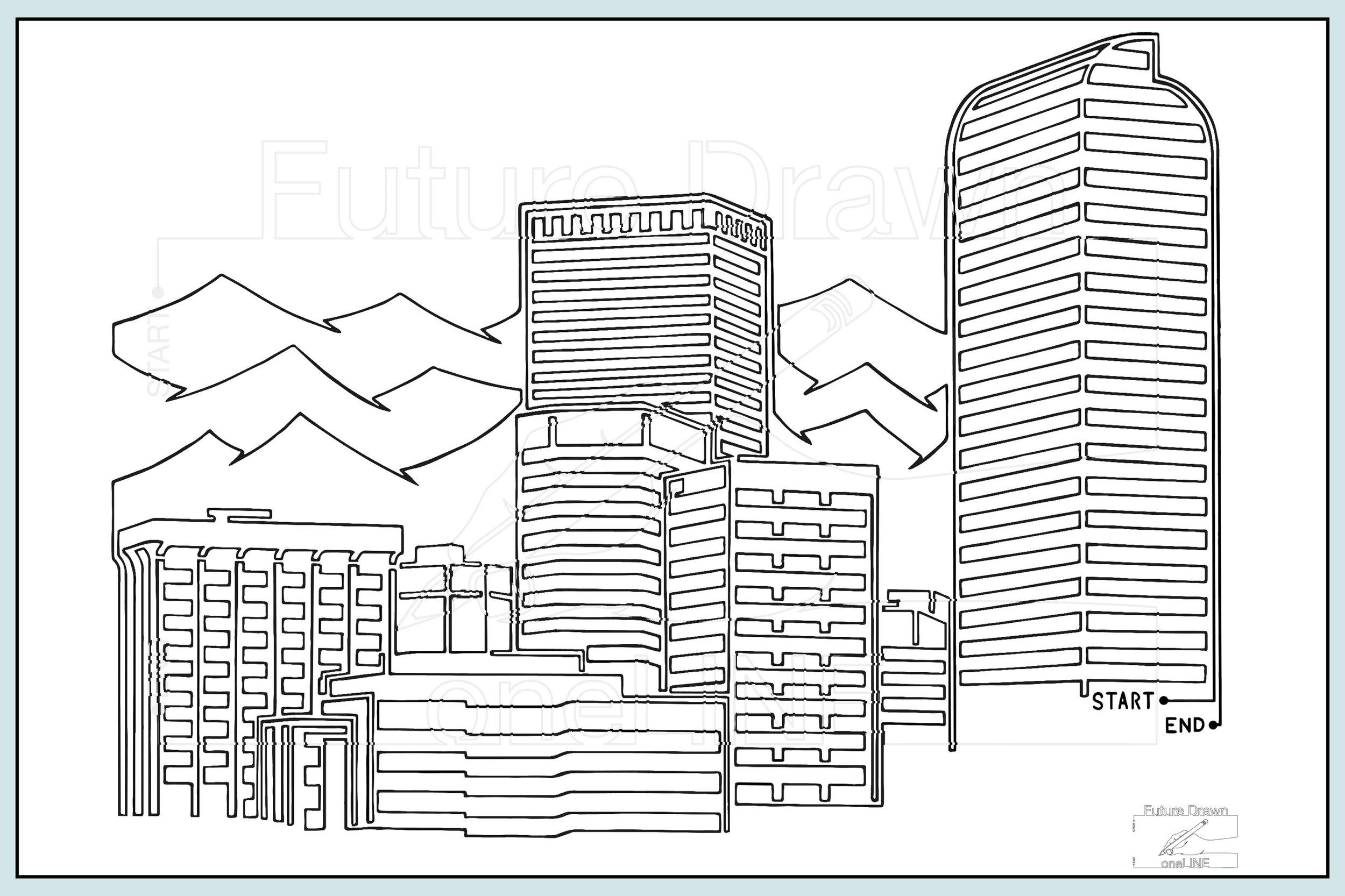 Web-Gallery Item- Denver Skyline ONE- oneLINE Future Drawn Applegate.jpg