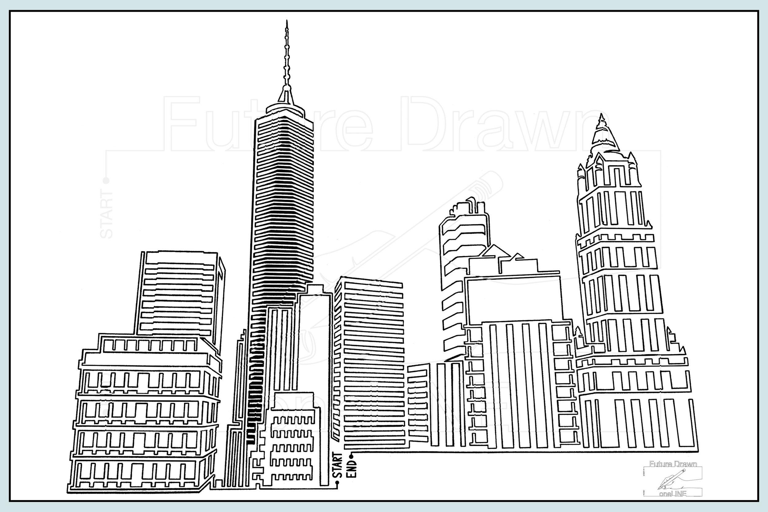 Web-Gallery Item- Ney York Skyline- oneLINE Future Drawn Applegate.jpg