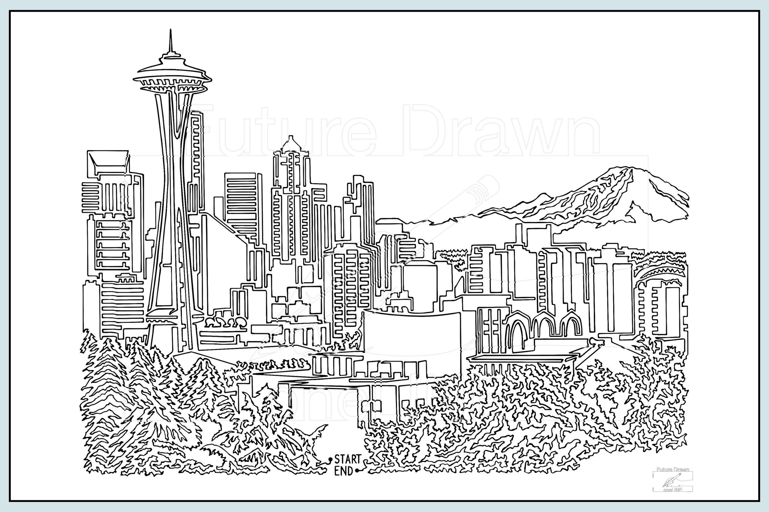 Web-Gallery Item- Seattle Skyline- oneLINE Future Drawn Applegate.jpg