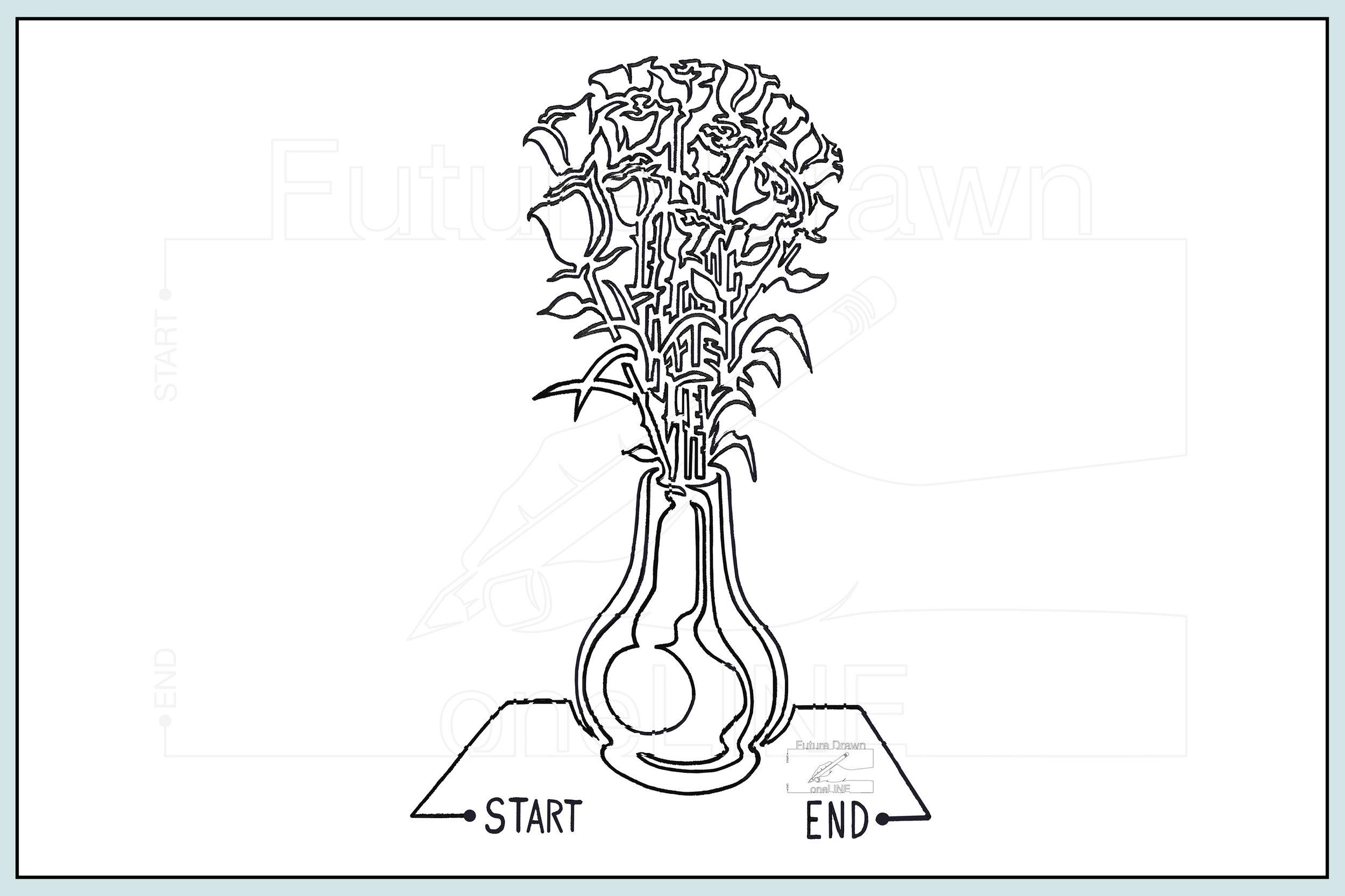 Web- one Small Vasse of roses- oneLINE Future Drawn Applegate.jpg