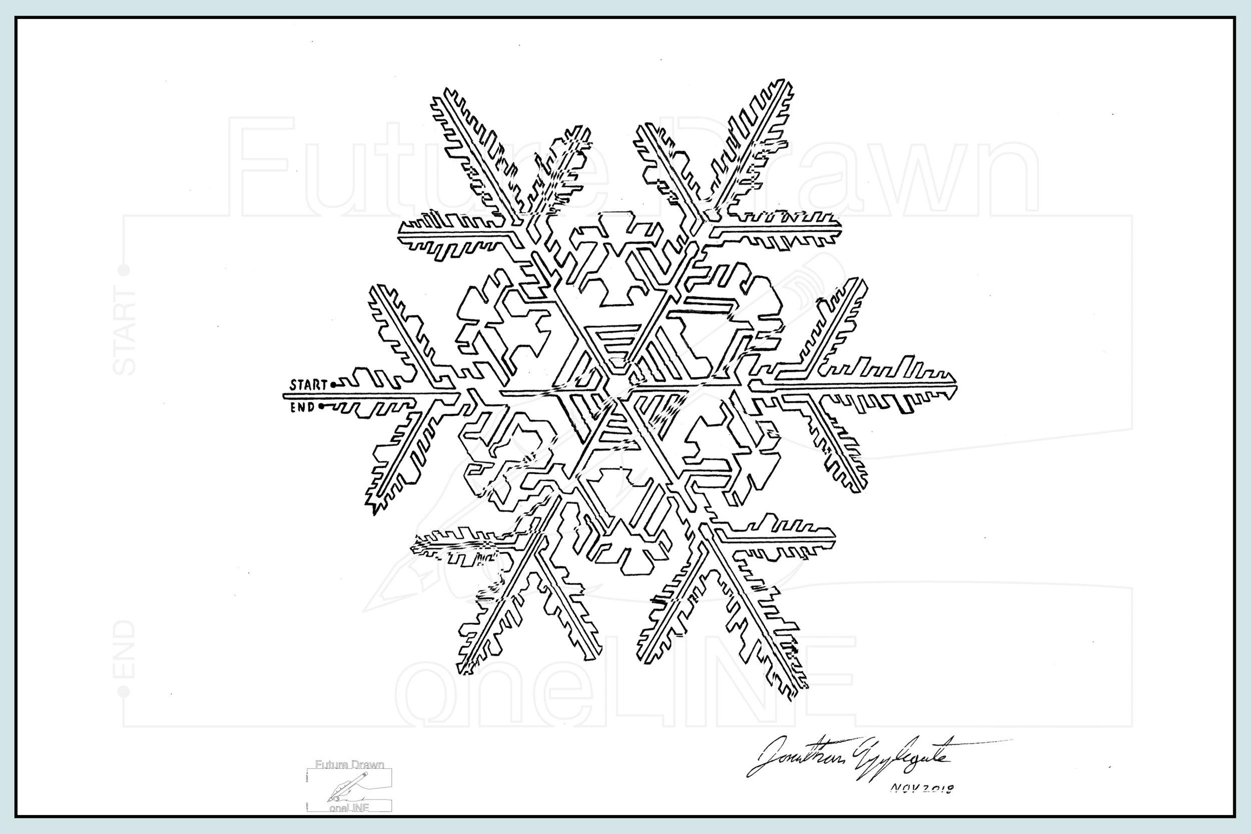 Web- SnowFlake matrix- oneLINE Future Drawn Applegate.jpg