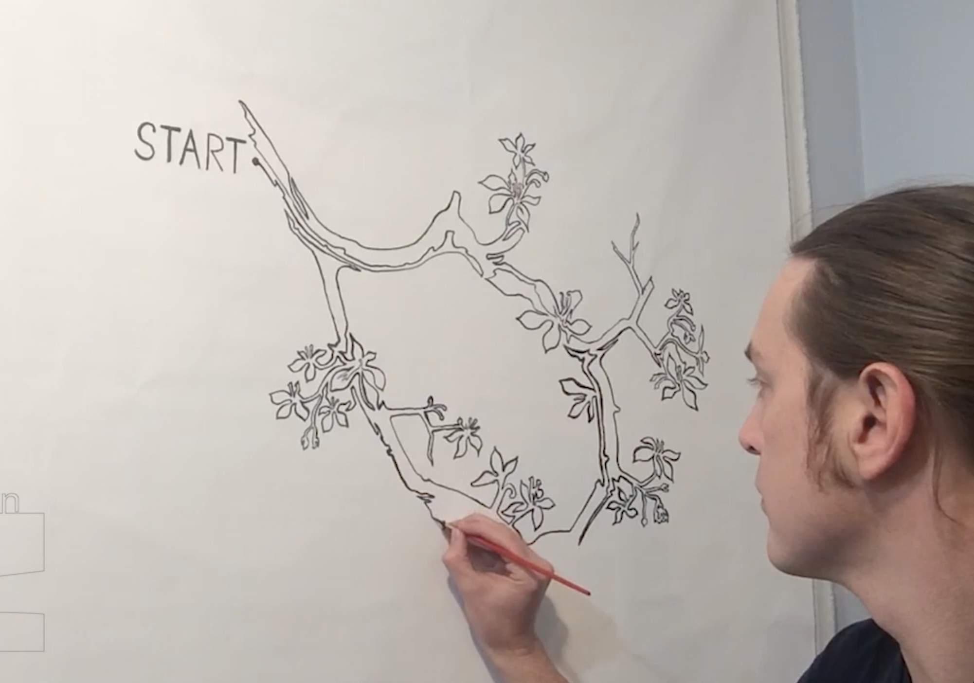 Watch the oneLINE - Artist Jonathan Applegate reveals part of his process is this collection of time-lapse and stop animation videos. Enjoy!