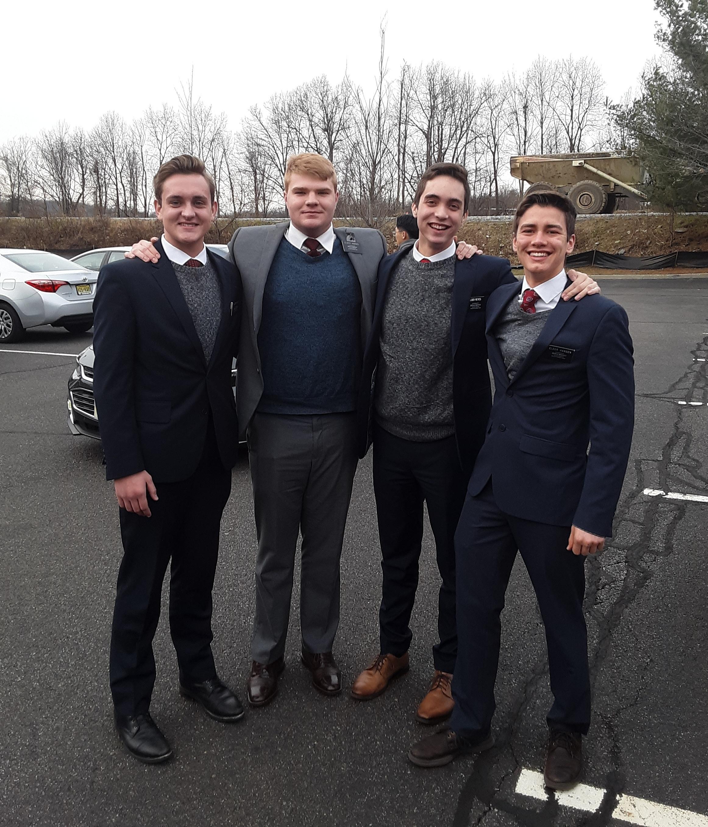 Elders Shields, Harris, Reyes and Hansen