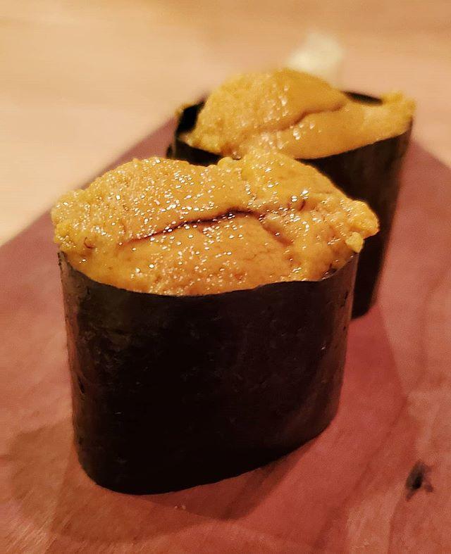 Foie gras of the sea 🥢 #uni