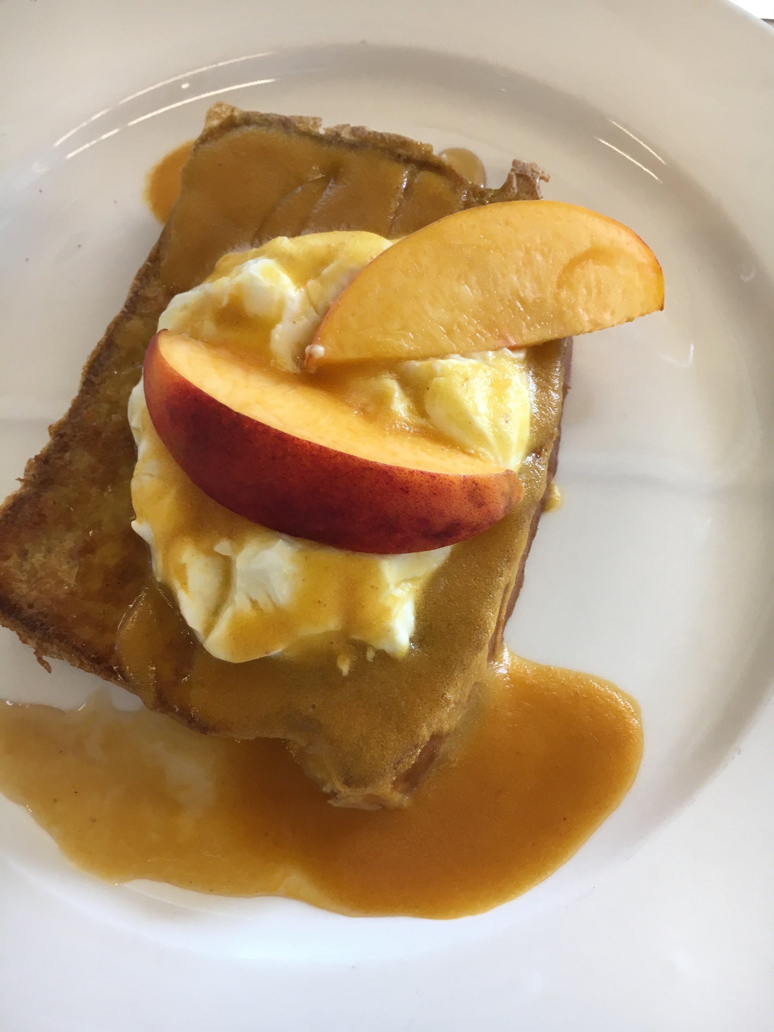 Summer Peach Breakfast