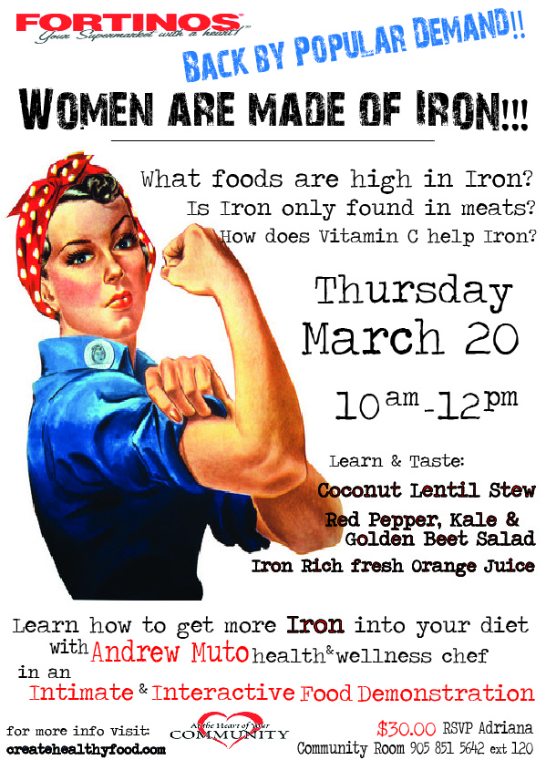 WOMAN ARE MADE OF IRON FOOD DEMO MARCH 2014.jpg
