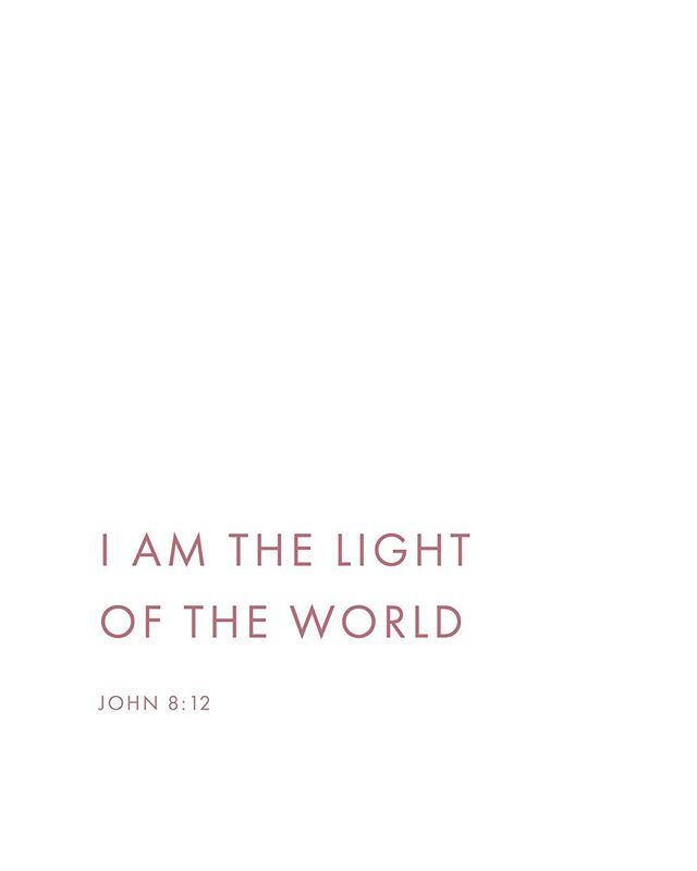 """Then Jesus again spoke to them, saying, ""I am the Light of the world; he who follows Me will not walk in the darkness, but will have the Light of life."" - John‬ ‭8:12‬ ‭ . . . ""The ""Light of life"" metaphor stands for what dispels the darkness of ignorance and death. Jesus was claiming that whoever believes in (""follows"") Him will enjoy ""the light"" that comes from God's presence and produces life."" - Dr. Constable #kindredinchrist"