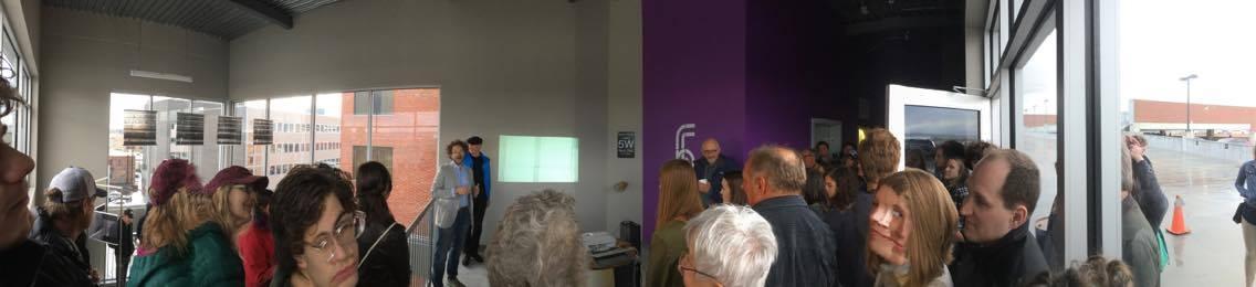 Pano faces @ G. Roland Biermann's exhibition.