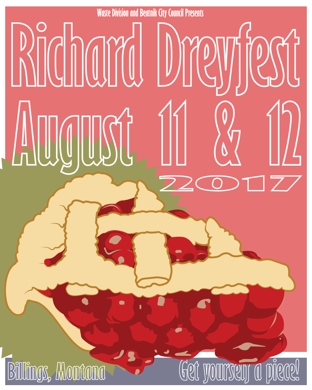 BCC is currently helping organize this year's Richard Dreyfest, a community arts festival based in Billings, MT. We hope to see you there!