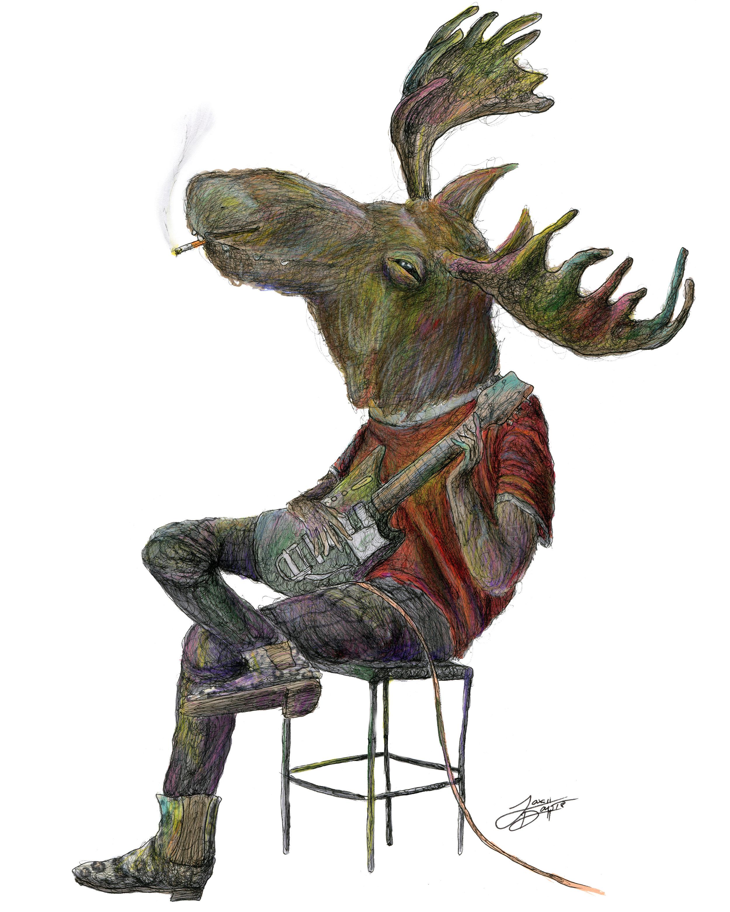 Mandy the Moose