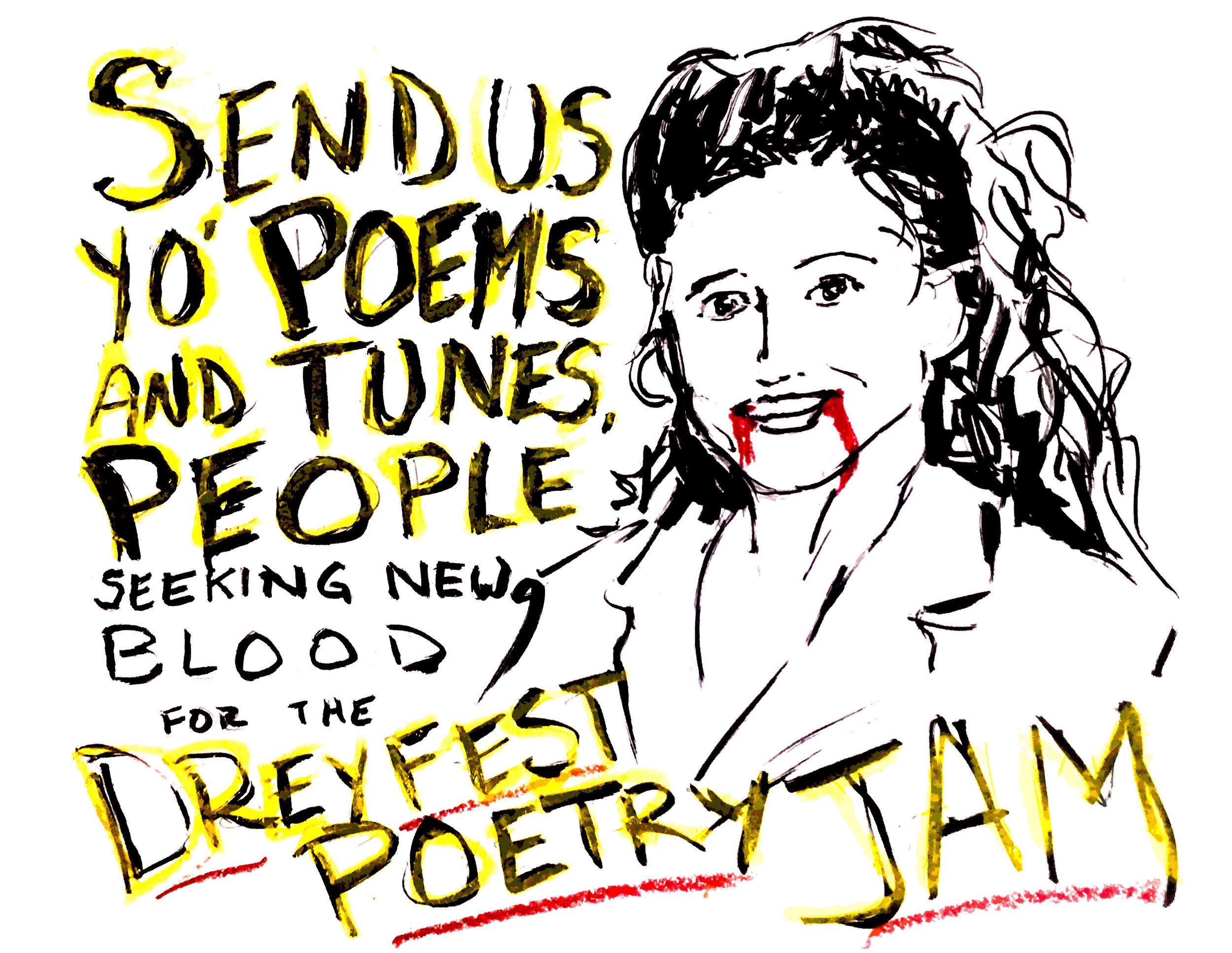 2018 Dreyfest Poetry Jam Call for Subs.jpg