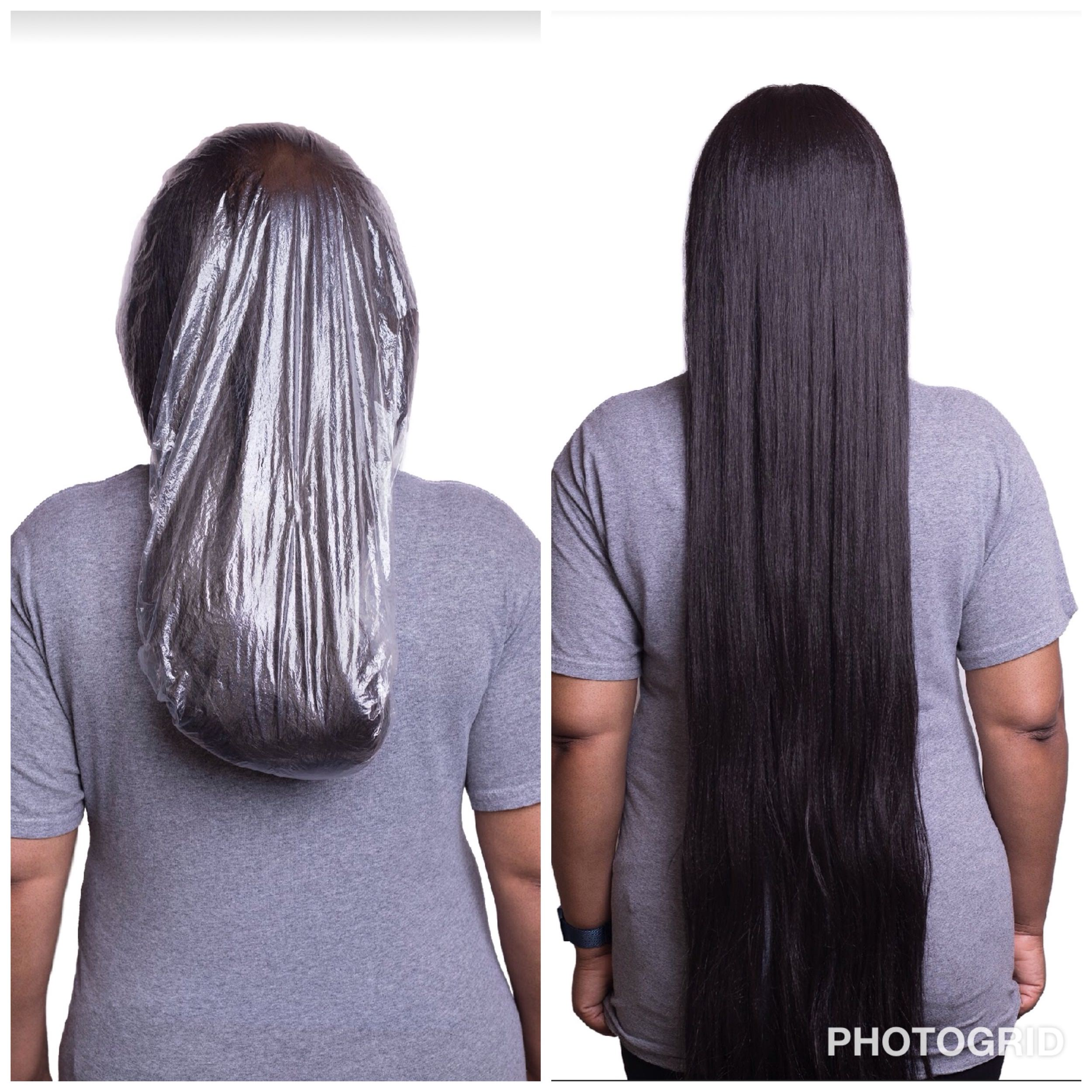 For long & thick hair