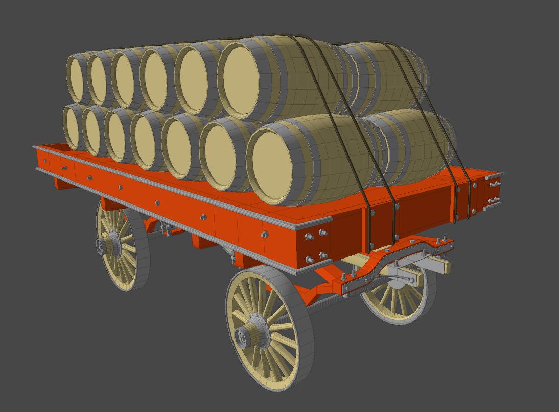 Barrels of good ole Canadian rye!