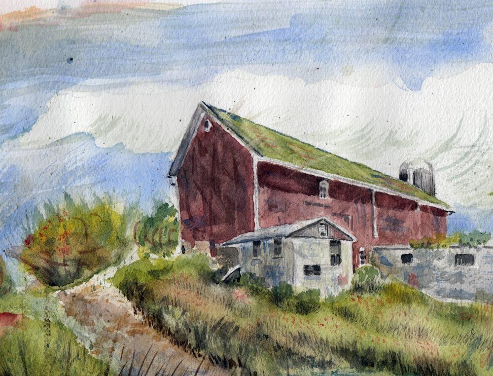 A Barn Somewhere in Ohio