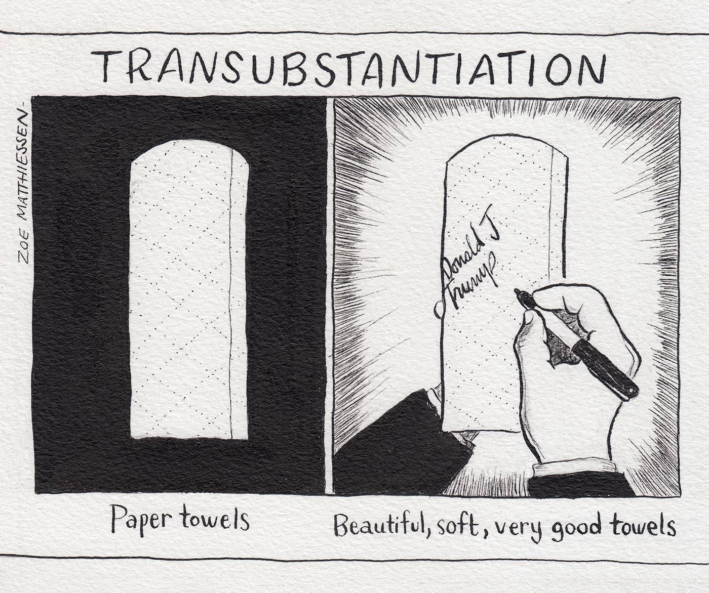 Transubstantiation, New Haven Independent