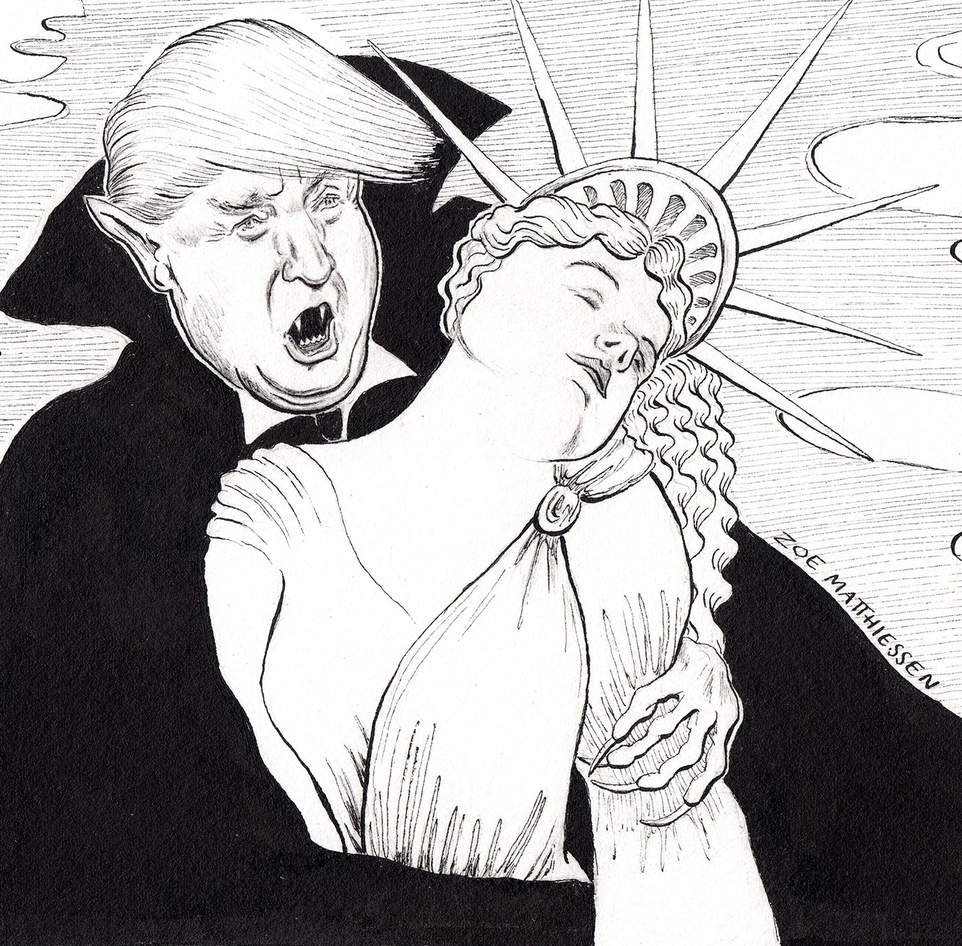 Trumpferatu, New Haven Independent
