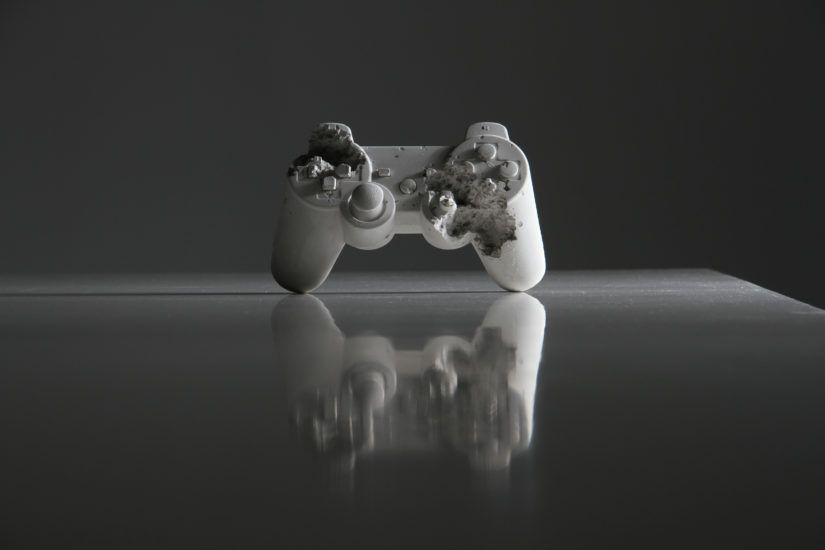 Image: Playstation by  Daniel Arsham . Courtesy of the artist.