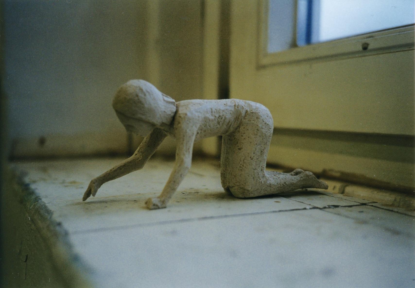 Researcher, 1999. Terracotta,