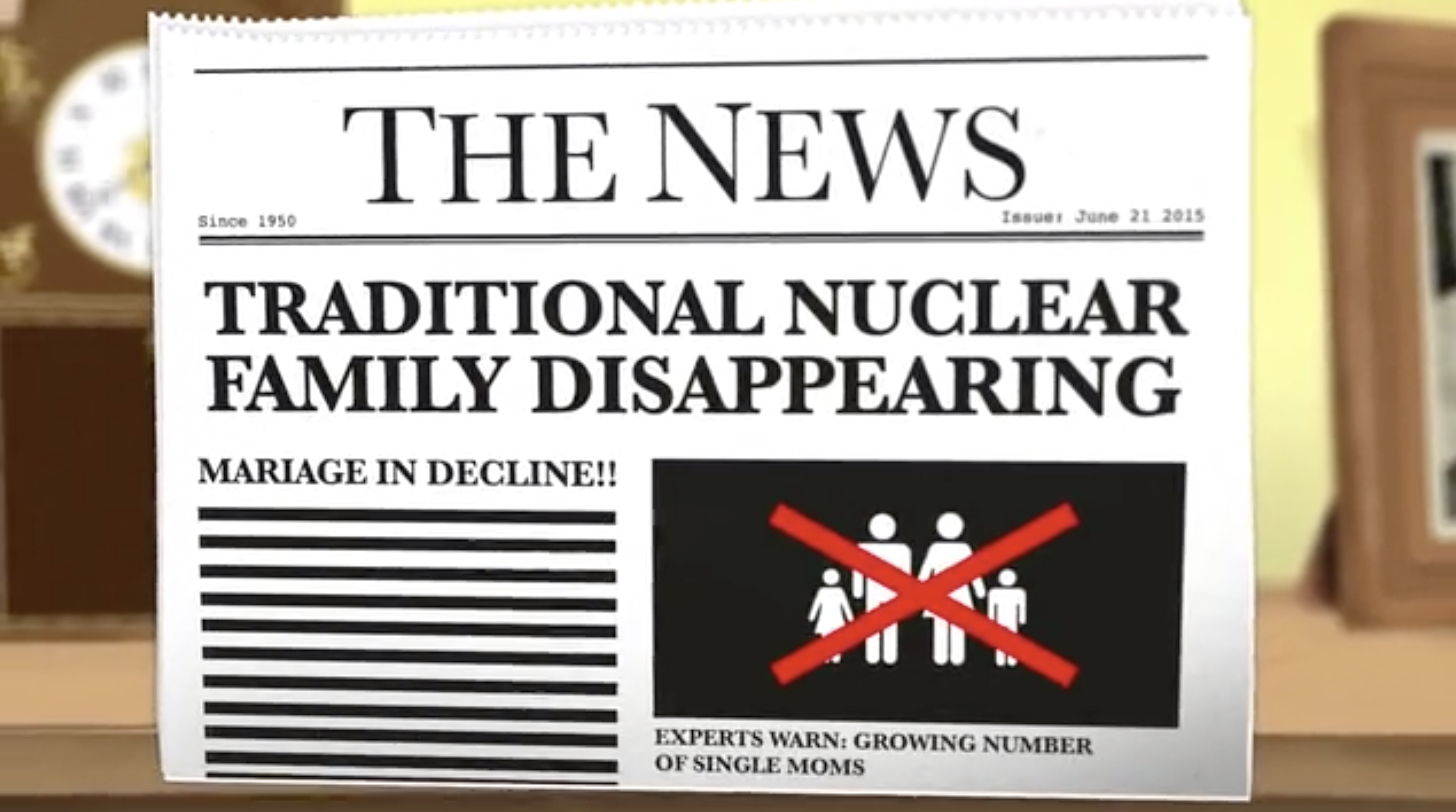 """Family Story - The Nuclear Option<br><span class=""""client_sub"""">Picture this Productions</span></br>"""