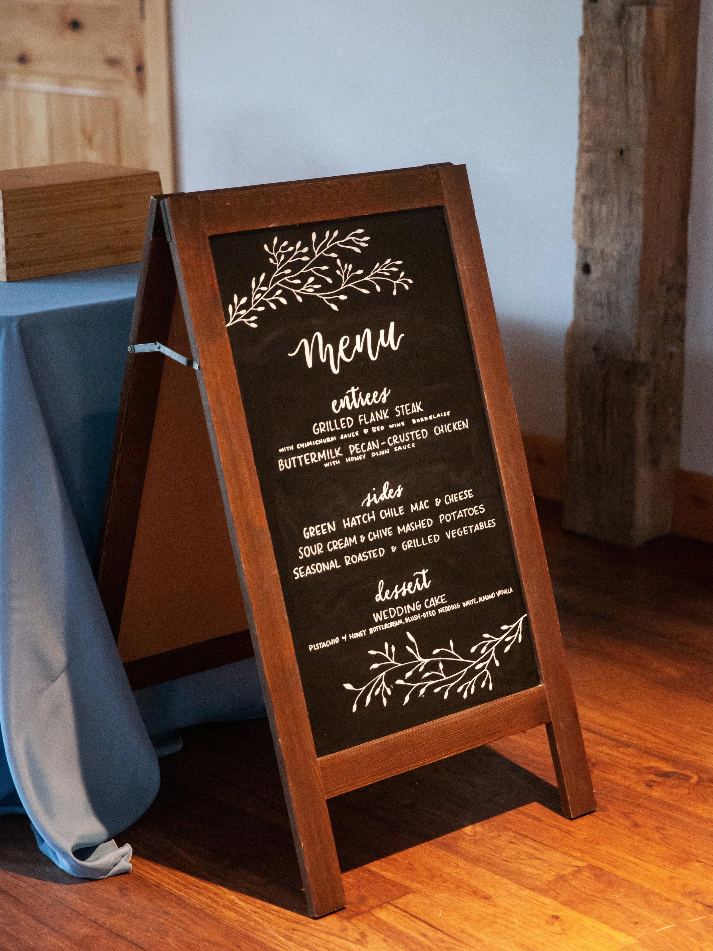 Chalkboard Sandwich Sign  - (1) $15/ea