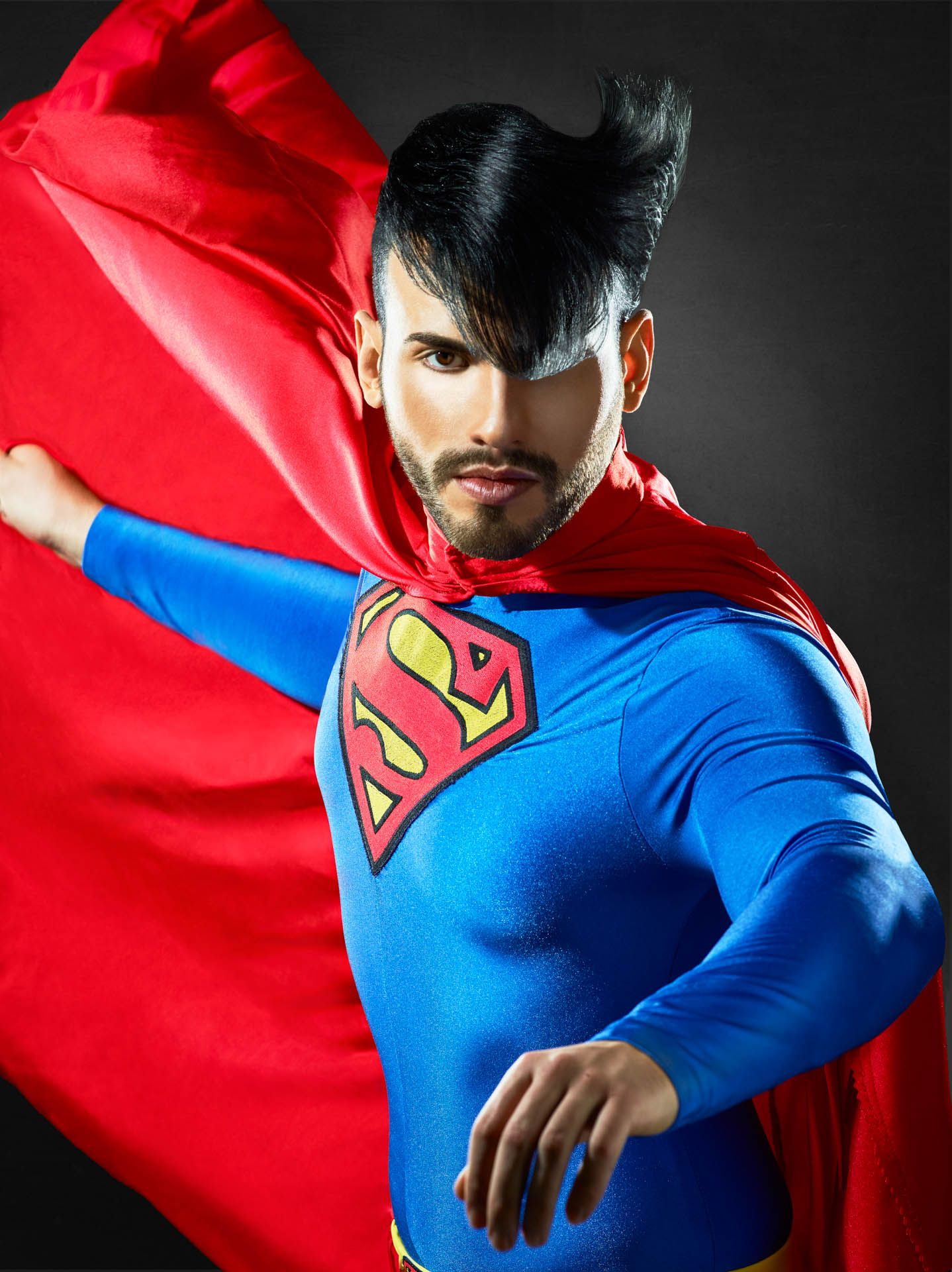 Supermen Hair Editorial