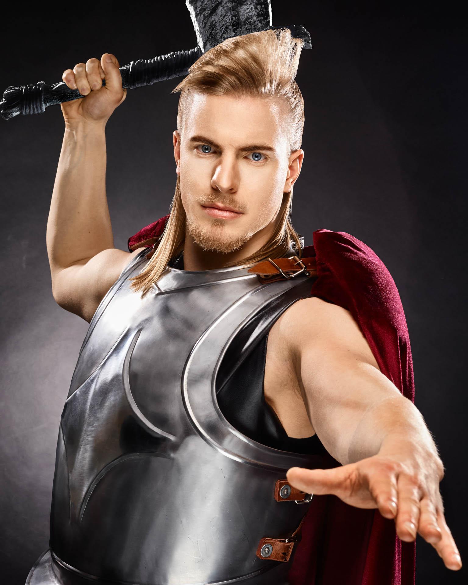 Thor Hair Editorial