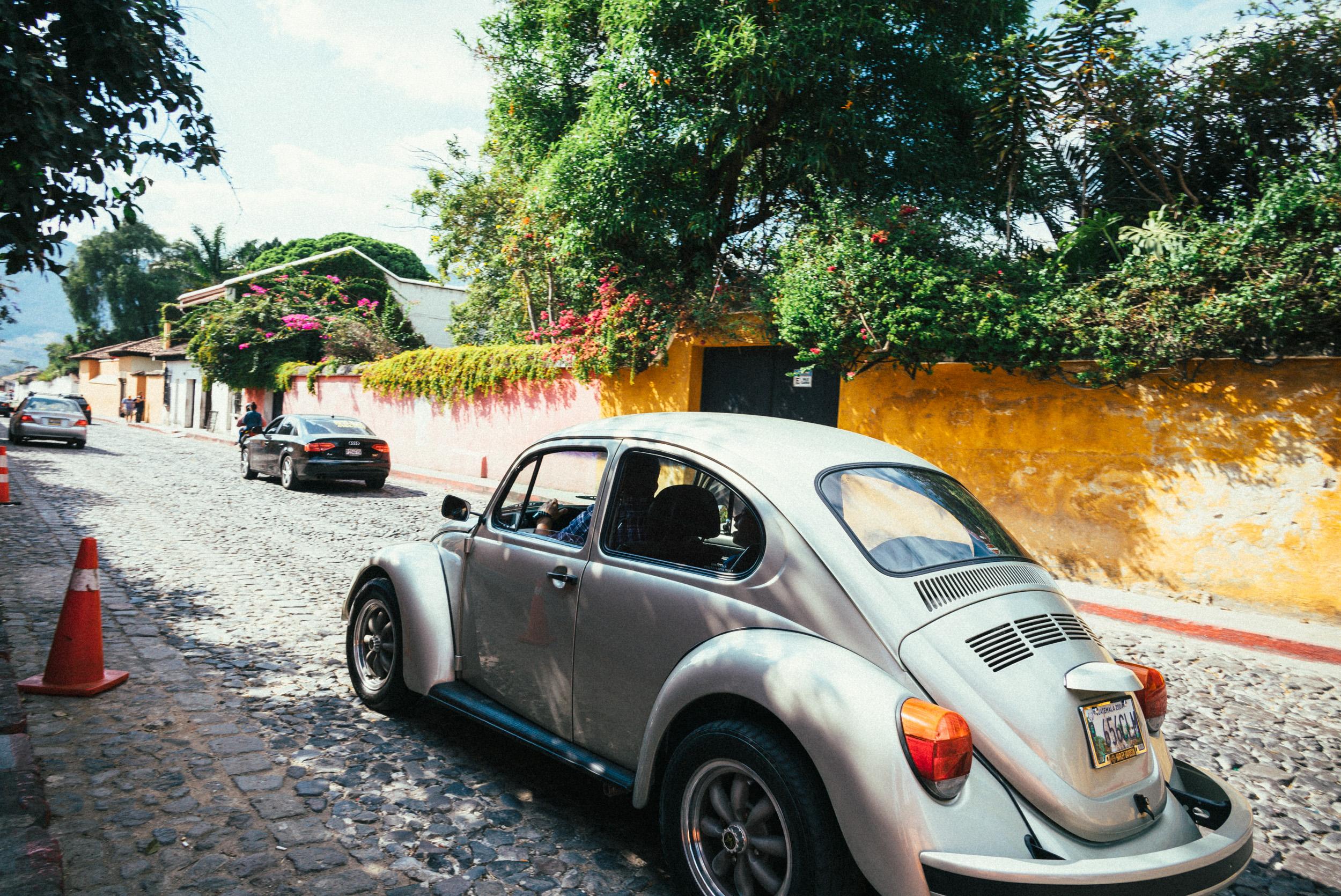 auf der Strasse von Antigua