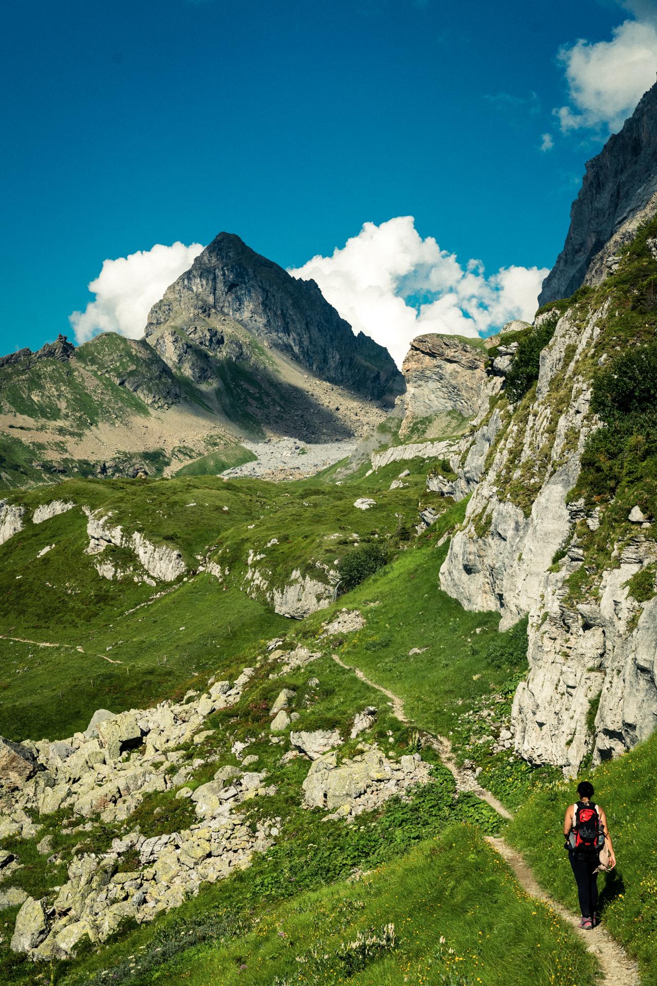 weiter gehts bis zur Alp Seewil