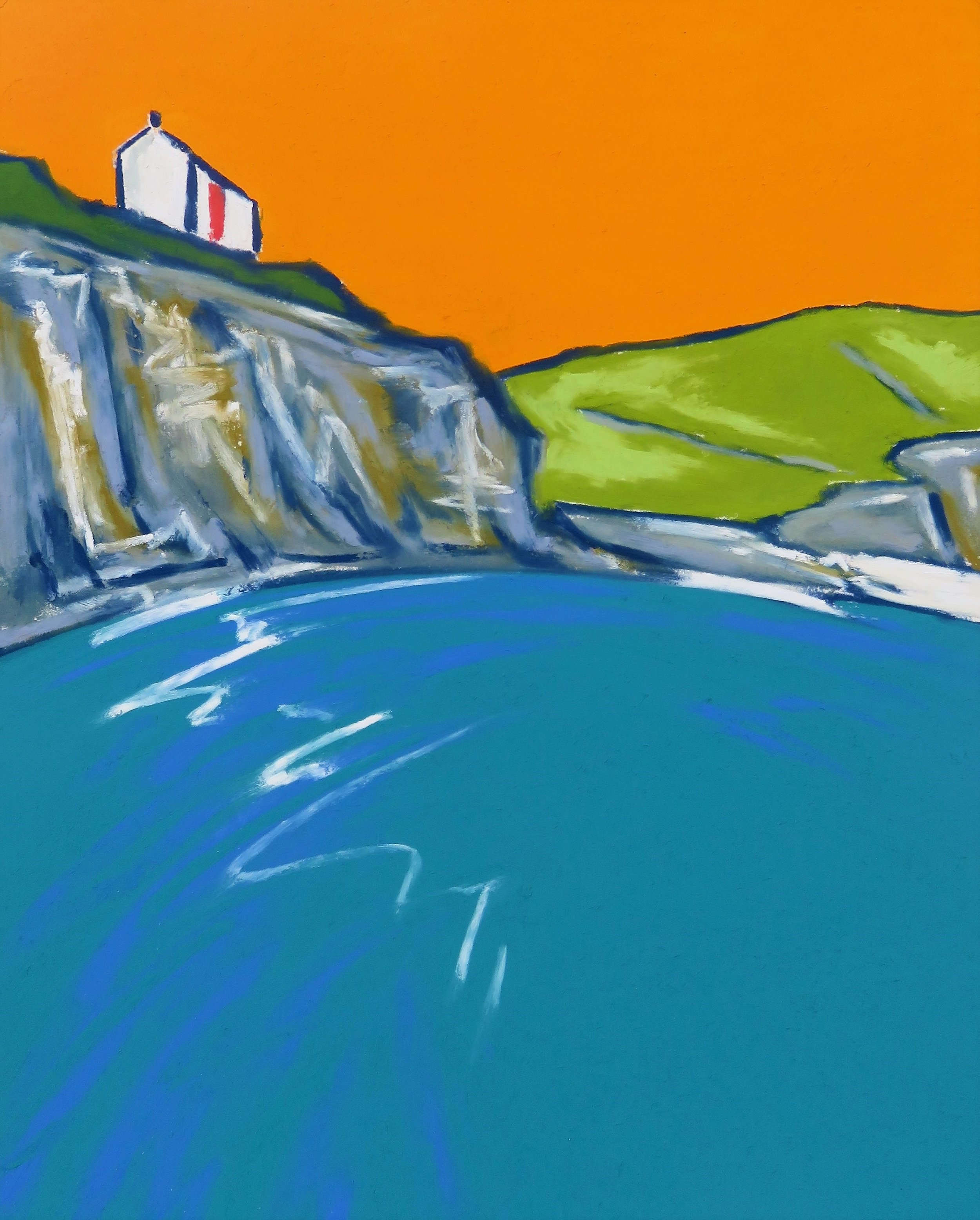Little Cottages Over-Looking Hallsands (SOLD)