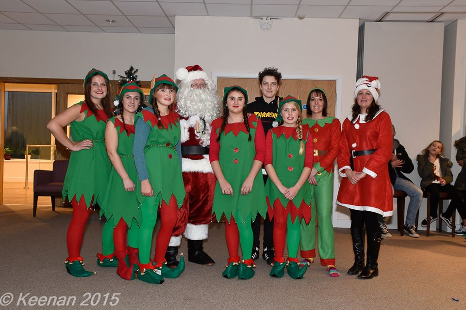 Tea Time with Santa Dec 2015 - a lovely Christmassy event and raffle which raised over £1,800.00. Huge thanks to Michaela and helpers.