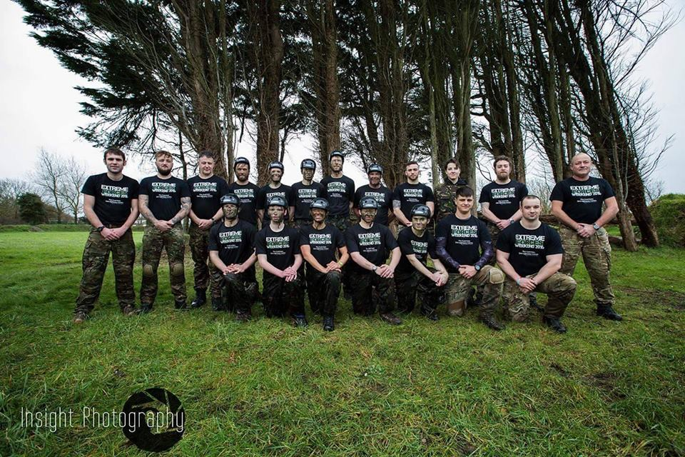 The staff and candidates of the Extreme Forces Weekend Feb 2016