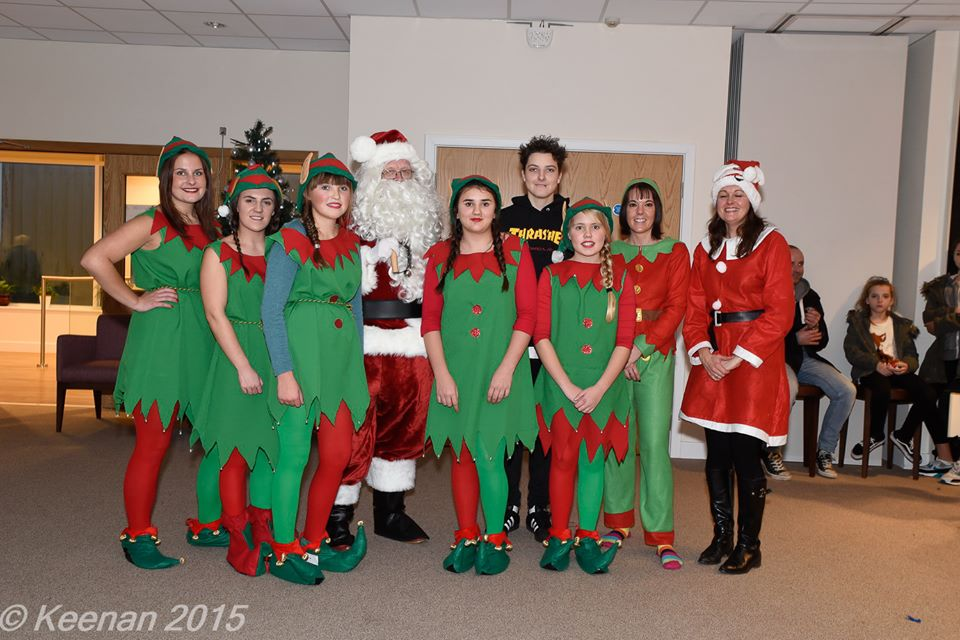 Helping Jonah's Michaela Fallaize organised the Tea Time with Santa event which raised a fantastic £ 1,889.24
