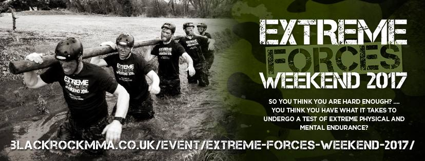 Black Rock MMA  - Extreme Forces Weekend 2016 & 2017A massive great big Thank You to all involved in the Extreme Forces Events - Extreme Weekend 2016 and 2017.A whopping £10,750.00 was raised in total from both events for Helping Jonah - Helping Others. Thank you to all the organisers, participants, sponsors, donators and everyone who volunteered behind the scenes who made it such a huge success.