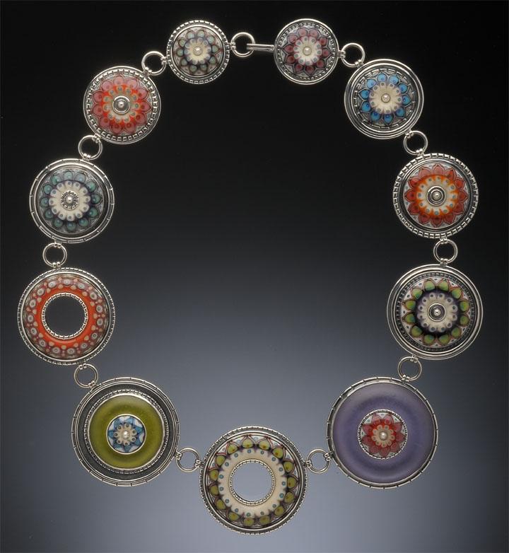 Kristina Logan - Constellation Necklace, 2011 - on display