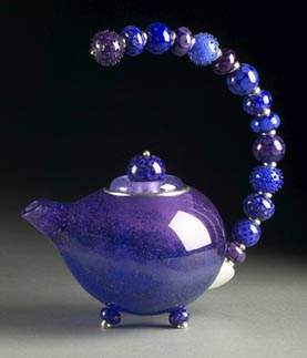 Kristina Logan - Violet Teapot - 2005