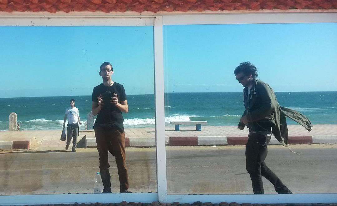 African selfie, Foum El Oued