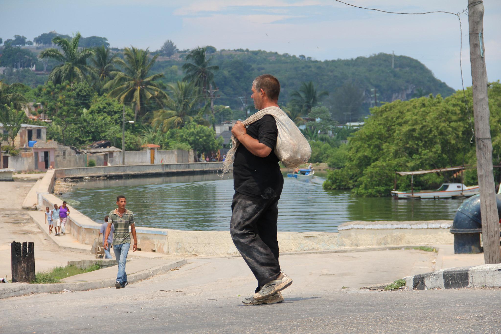 street life in Matanza, Cuba