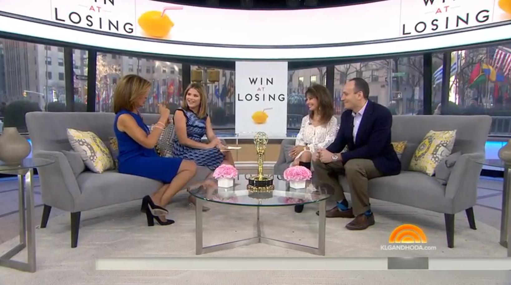 Sam and Susan Lucci talk to Hoda Kotb and Jenna Bush on the TODAY Show. January 16, 2017