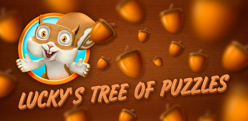 Feature-kuva. Englanninkielisillä markkinoilla pelin nimi on Lucky's Tree of Puzzles.