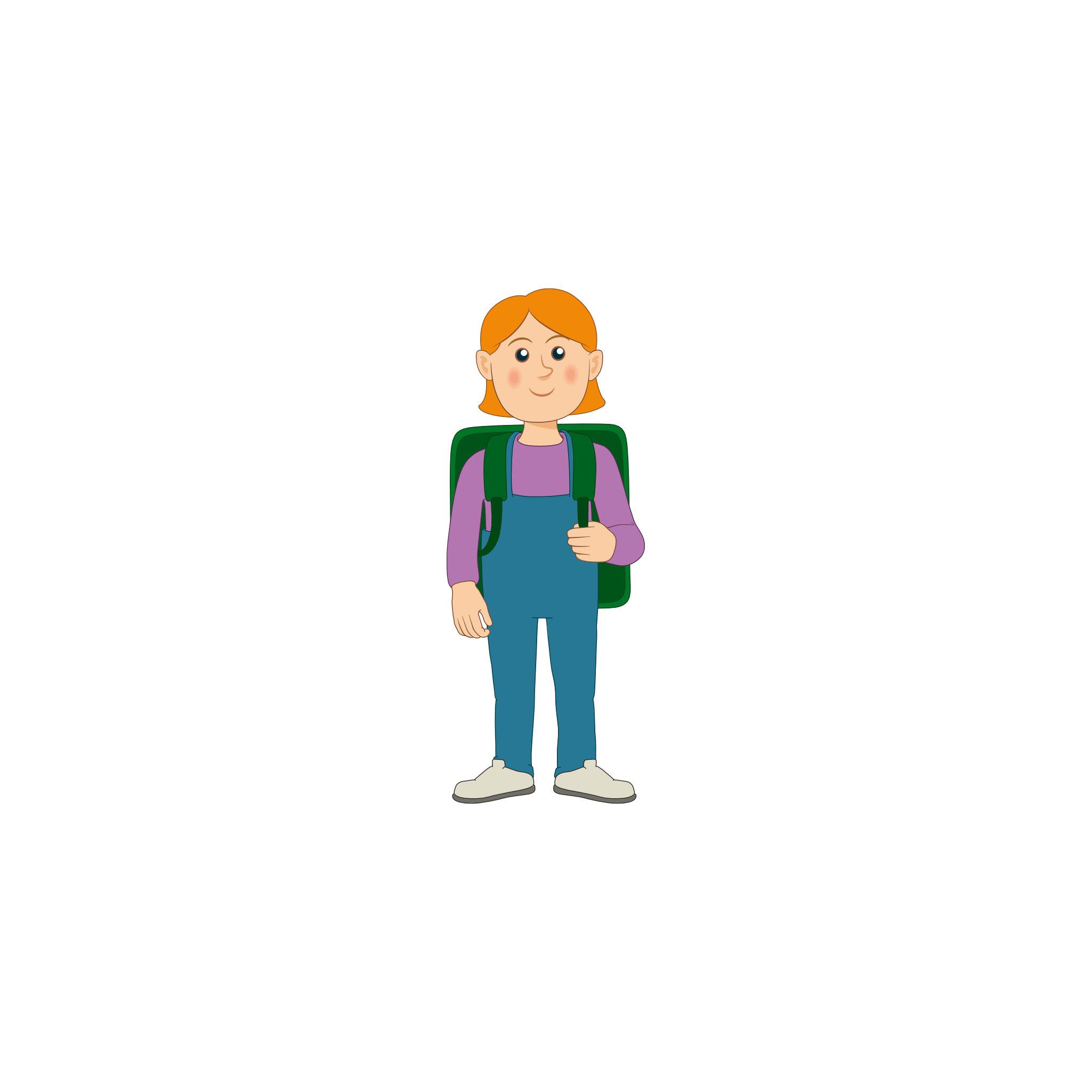 Linkki-matkustajia: koululainen