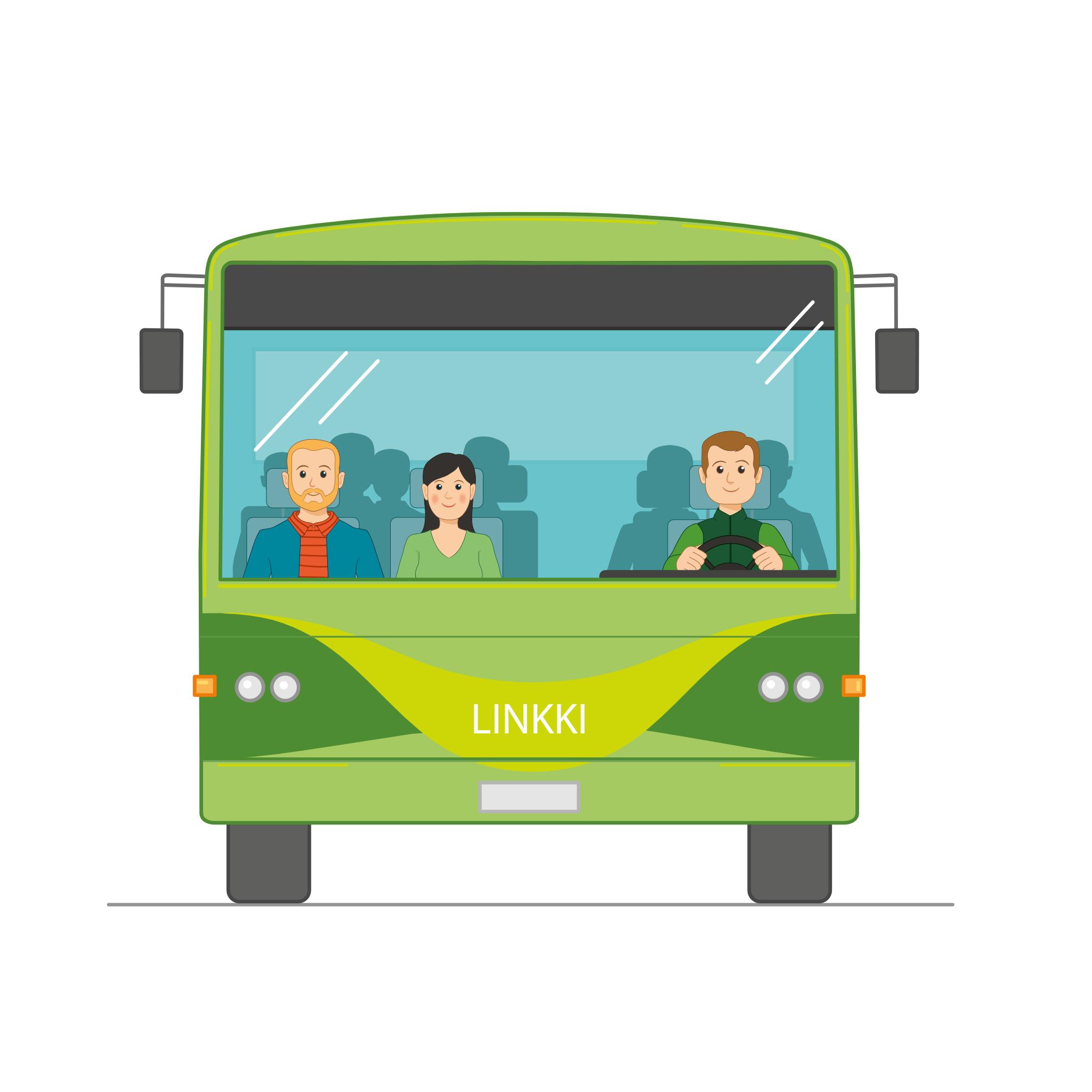 Linkki-Bussi-edestä