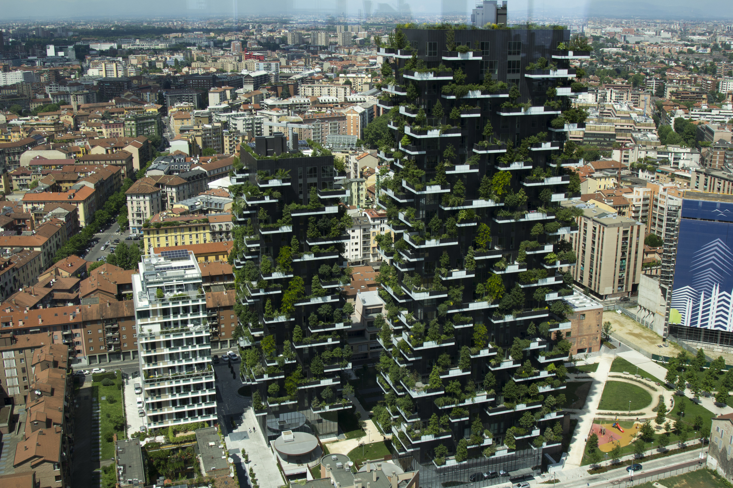 Vertical Gardens from the Unicredit Tower