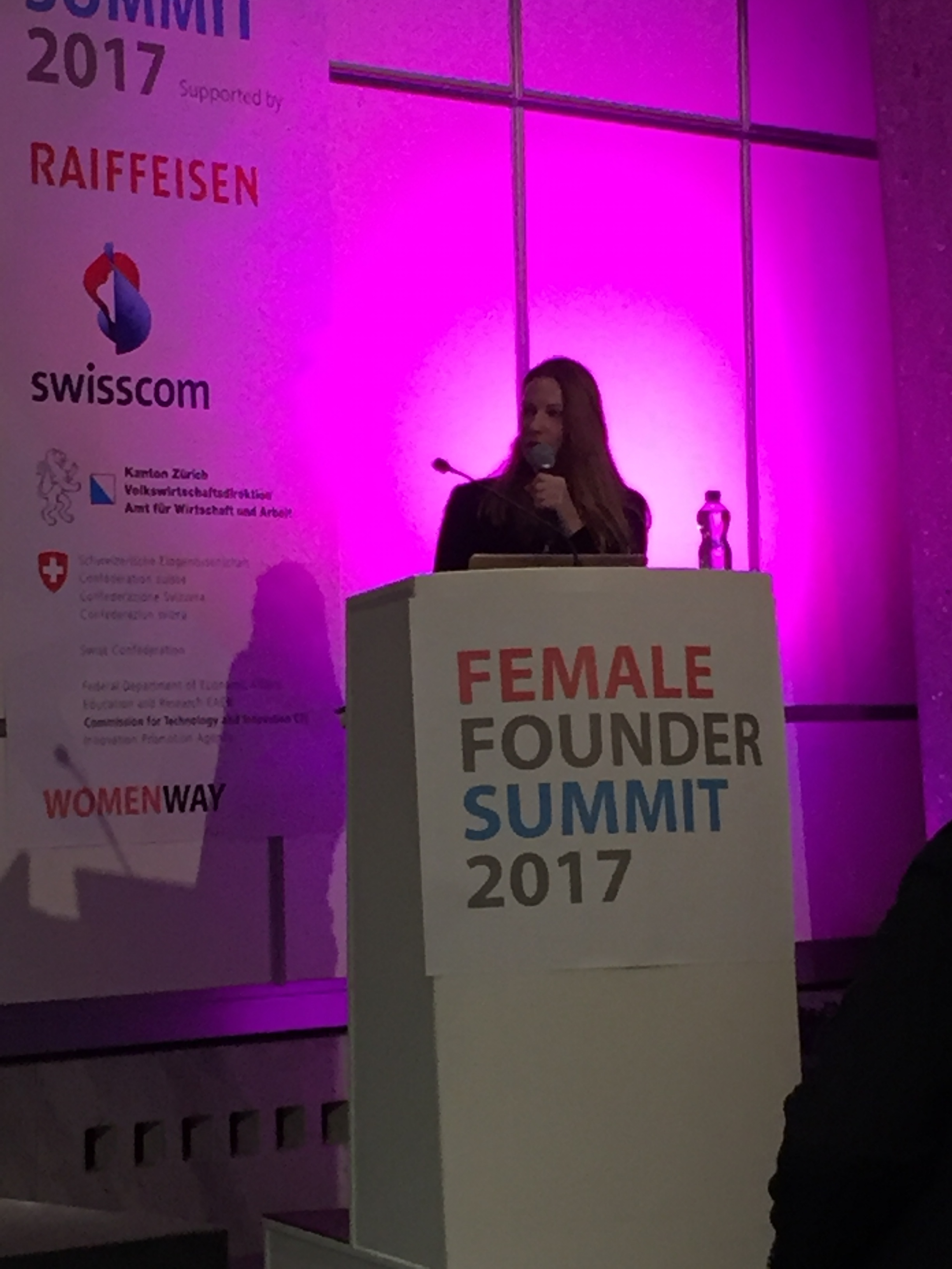 Carole Hofmann, Female Founders Summit 2017