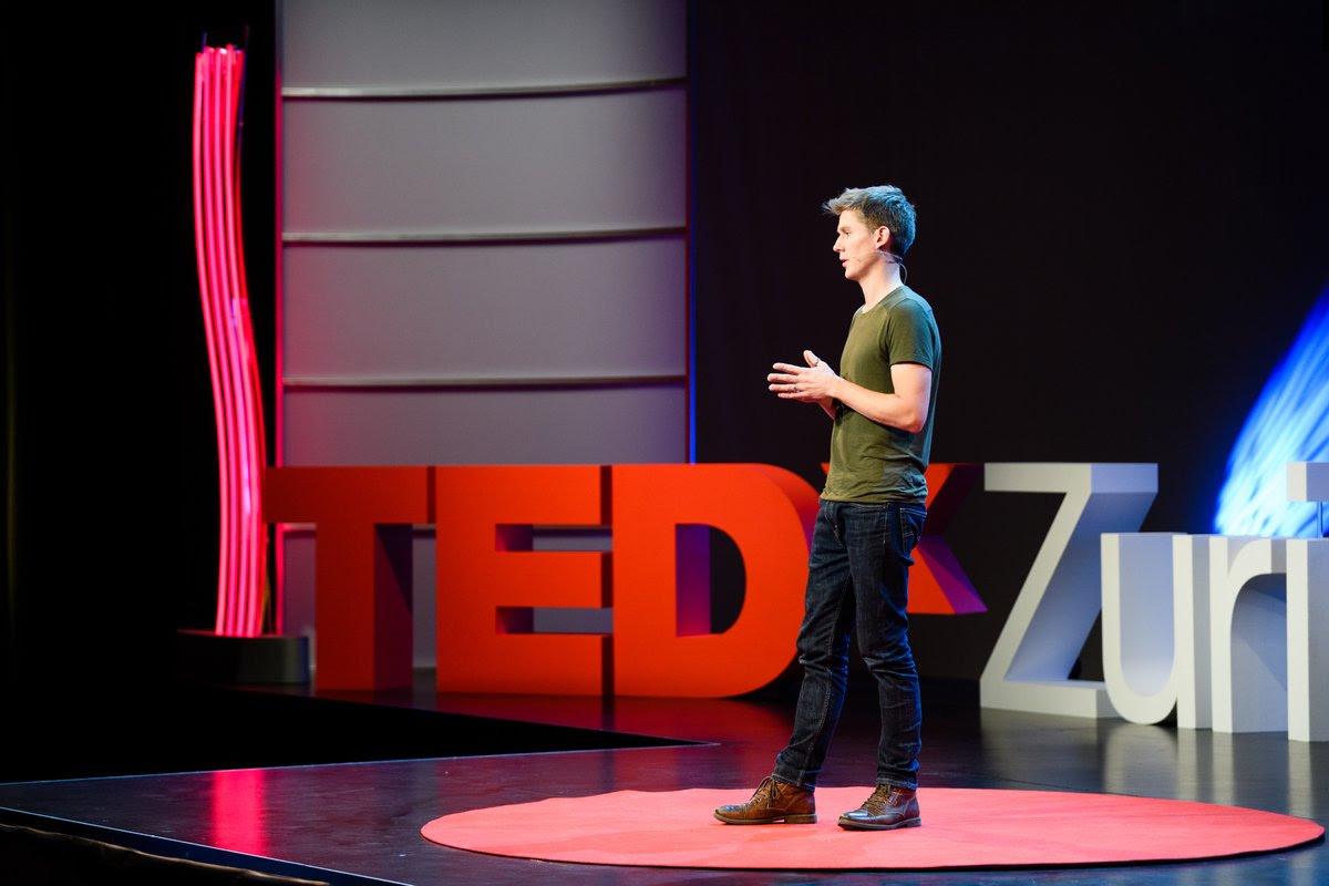 Credits: TEDx Zurich,Boris Baldinger, Manuel Lopez, Christsna Züger